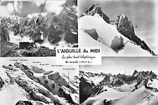 BG2800 chamonix mont blanc l aiguille du midi  CPSM 14x9.5cm france
