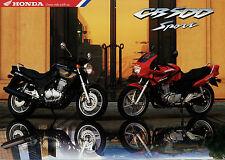Prospetto HONDA CB 500 SPORT 10/97 1997 MOTO prospetto opuscolo MOTO MOTO