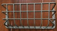 """Vintage Cast Aluminum 16"""" Guard / Cage for Lens / Light by Holophane Company"""