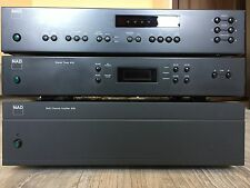 Very Rare! NAD-916 6-Ch. Power Amp & NAD-910 PROCESSOR & NAD-412 TUNER