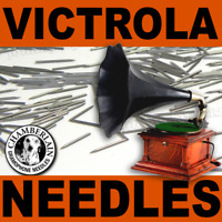 100 LOUD-TONE VICTROLA Record NEEDLES for Vintage PHONOGRAPH Gramophones