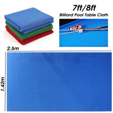 US Professional Billiard Cloth Worsted Felt Mat Cover 7/8FT Table Billiard Pool