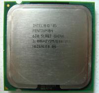 Intel Pentium 4 CPU 3.0 GHz / 2MB / 800 Mhz 630 LGA 775 socket SL8Q7