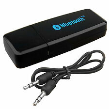 USB BLUETOOTH INALÁMBRICO 3.5MM AUX AUDIO SONIDO ESTÉREO RECEPTOR ADAPTADOR