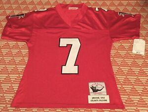 Mitchell & Ness NFL Atlanta Falcons Mike Vick 7 Throwback Jersey Mens 52 Xl