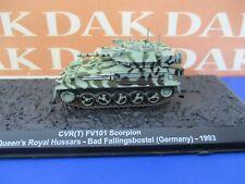 Diecast 1/72 Modellino Tank CVR(T) FV101 Scorpion Queen's Royal Hussar 1993