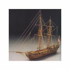 Mantua Model 793 HMS Racehorse Bomb Ketch Wooden Plank On Bulkhead Scale 1:47