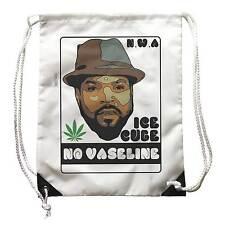 Sac à dos Ice Cube Aucun Vaseline, à N.Wa. musique Hip Hop Rap, Vieille École