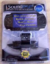 NEW Factory sealed i.SOUND PSP 1000 SPEAKER SYSTEM WITH STAND i sound Dream Gear