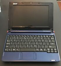 Acer Aspire One ZG5 Netbook Win10-1GB RAM-140GB HDD-New Battery! EUC