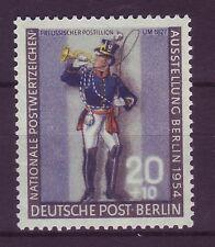 Briefmarken aus Berlin (1954-1955) mit Post- & Kommunikations-Motiv
