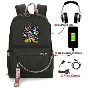 Anime My Hero Academia Backpack Midoriya Izuku All·Might Bags Kids Gift