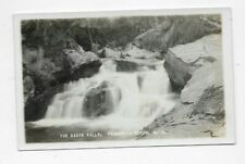 Vintage RPPC Postcard THE BASIN FALLS Franconia Notch NH R173
