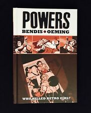 Powers, Vol. 1: Who Killed Retro Girl? (Deluxe HC Edition, 2011) Bendis Icon