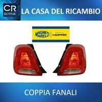 COPPIA DX+SX FANALI POSTERIORI COMPLETI MARELLI FIAT 500 DAL 2015