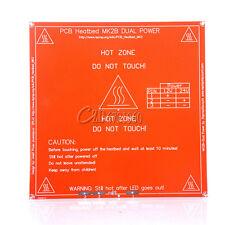 Mk2b Heat Bed Hot Plate Reprap 3d Printer Pcb Heatbed For Prusa Mendel 12v24v