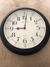 Clock (18 x 18) - Black: Sterling & Noble