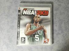 NBA 2K9 2009 BASKET - SONY PS3 PLAYSTATION 3 - PAL -COMPLETO - COME NUOVO