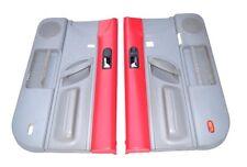 VW Volkswagen Beetle Door Panel Driver Passenger Side RED Gray Panels Trim OEM