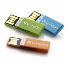 Verbatim 8gb Clip-it Usb Flash Drive - 3pk - Black, White, Red - 8 Gb - Red,