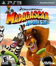 NEW Madagascar Kartz (Sony PlayStation 3, 2009)