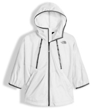 NWT Youth Girls The North Face Flyweight Capelete Reflective Jacket Size XS