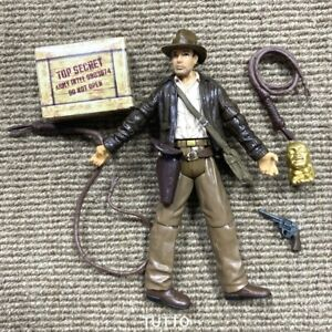 3.75'' Indiana Jones INDY Raiders of the Lost Ark Harrison Ford Figure Kids Toy