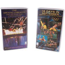 SEALED 2 x SYDNEY 2000 Olympics Opening Ceremony & 16 Days in September VHS NEW