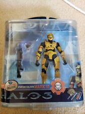 Halo 3 SPARTAN Soldier MARK VI Yellow Suncoast FYE Exclusive Action Figure Xbox