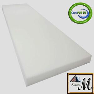 Upholstery Foam Seat Replacement Pallet Cushion Medium Density Foam Padding Upholstery Sheet 1X 36X 72