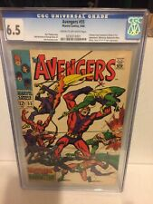 AVENGERS 55 CGC 6.5 1ST APPEARANCE ULTRON MAYHEM OVER MANHATTEN