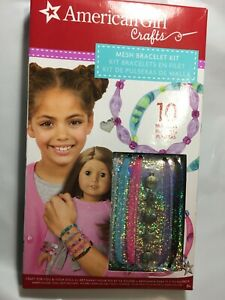 American Girl Craft Mesh Bracelet Kit Craft For You & Your Doll New! NIB