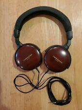 Audio-Technica ATH-ESW9 Portable Headphones Japan Cherry Wood Grain