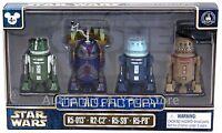 Star Wars Celebration 2017 Disney Droid Factory 4 Pack R5-013 R2-C2 R5-S9 R5-P8