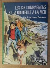 BV - LES SIX COMPAGNONS ET LA BOUTEILLE À LA MER - P.J. Bonzon - 1980 - TTBE