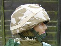 BRITISH ARMY SURPLUS DDPM Mk.6 CAMO COTTON COVER FOR BALLISTIC OR PARA LIDS-SAS