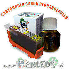 RECHARGEABLE Kit Cartouche Rechargeable Canon CLI8 Yellow