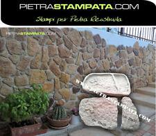 STAMPO x FINTA PIETRA RIVESTIMENTO MATTONE IN GESSO CEMENTO VENEER STONE MOLD