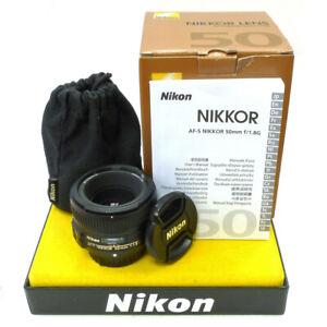 **NIKON AF-S 50mm F/1.8G PRIME LENS | for ALL NIKON DSLR's | NIKON UK DEALER**