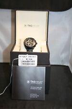 Tag Heuer Men's Formula 1 Black Dial Rubber Strap Automatic Watch CAZ2011.FT8024