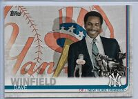 2019 Topps Series 2 Baseball Short Print Variation Dave Winfield #653 NY Yankees