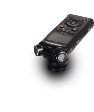 Olympus ls-p4 Stéréo Microphone Vidéo Edition + Éclair Schuh Adaptateur, batteries, 3,5 mm
