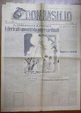 DON BASILIO 23 Marzo 1947 Concordato Di Fausto Mussolini Paolo III Crozza Clero