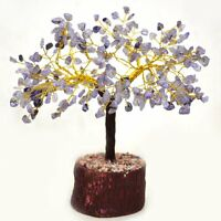 Amethyst Stone Spiritual Reiki Gemstones Tree Feng Shui Vastu Table Decor