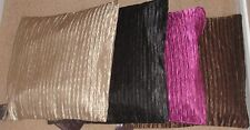 """Viva Pin Tuck Cushion Covers 18""""x18"""" Only Black and Brown Left"""