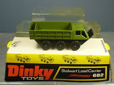 """DINKY TOYS MODEL No 682 STALWART LOAD CARRIER   """" GREEN VERSION """"   VN  MIB"""