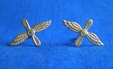 Soviet Russian Air Force PILOT Uniform Collar TAB Pin BADGE 2 pcs.