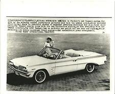 United Press Photo of 1962 Pontiac Tempest with LeMans Option
