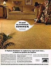 PUBLICITE  1967   SOMMER  moquette tapis 3