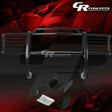 BLACK MILD STEEL FRONT BUMPER GRILLE/GRILL GUARD FOR 88-99 CHEVY/GMC C/K SERIES